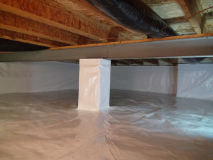 Crawl space-after
